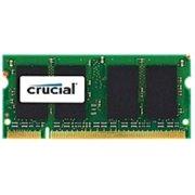 Refurbished Crucial 1GB DDR2 SDRAM Memory Module - 1GB - 800MHz DDR2-800/PC2-6400 - Non-ECC - DDR2 SDRAM - 200-pin SoDIMM