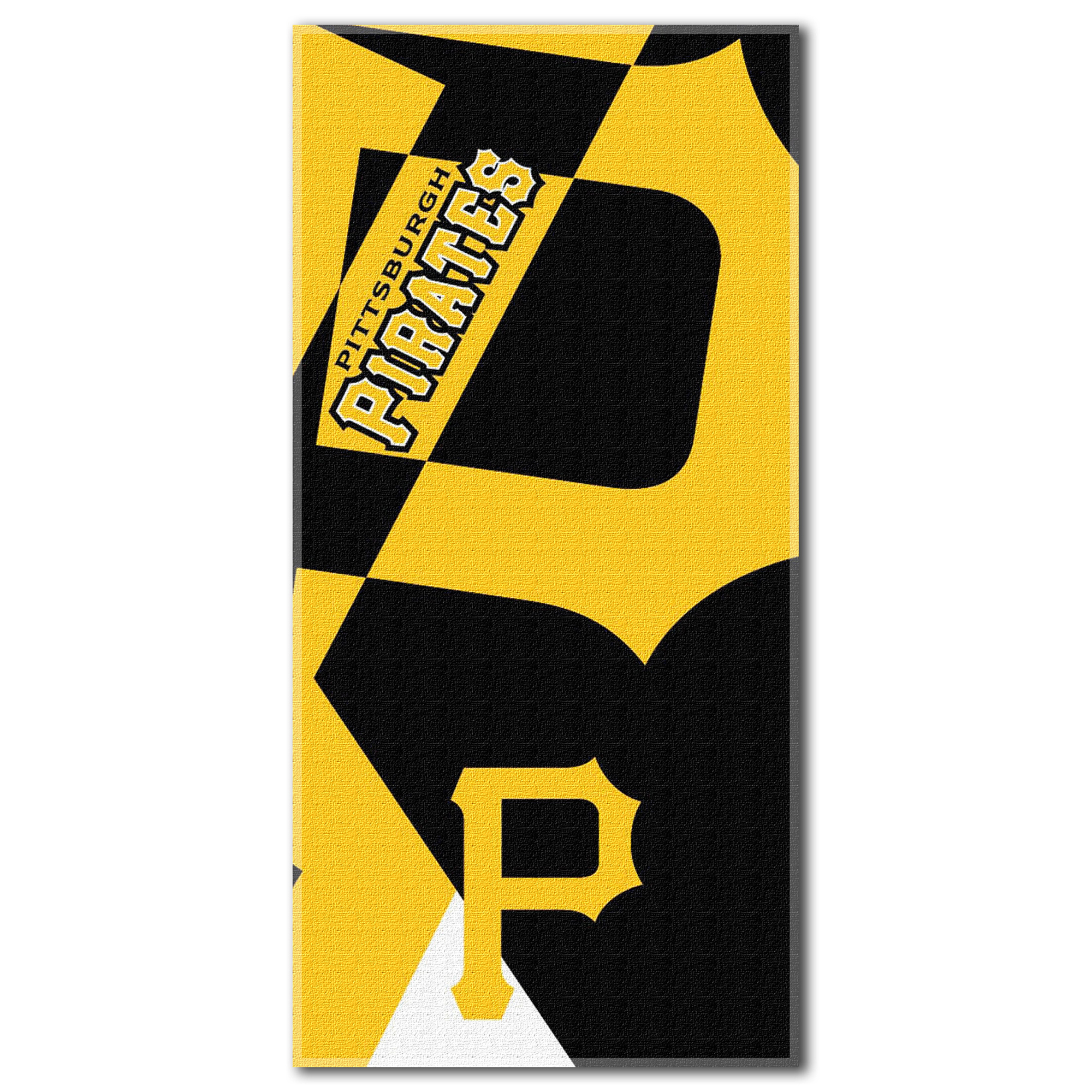 Pittsburgh Pirates The Northwest Company 34'' x 72'' Oversized Puzzle Beach Towel - No Size
