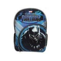 (pack 2) Marvel's Black Panther 16 Blue Backpack with Bottle Holder by bulk buys