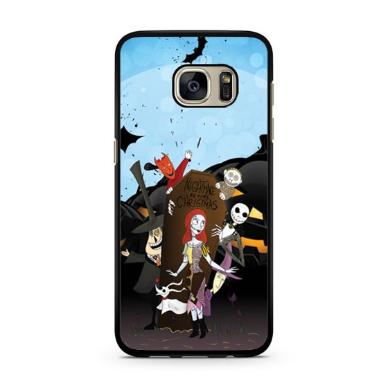 Nightmare Before Christmas Phone Case.Nightmare Before Christmas Galaxy S7 Case