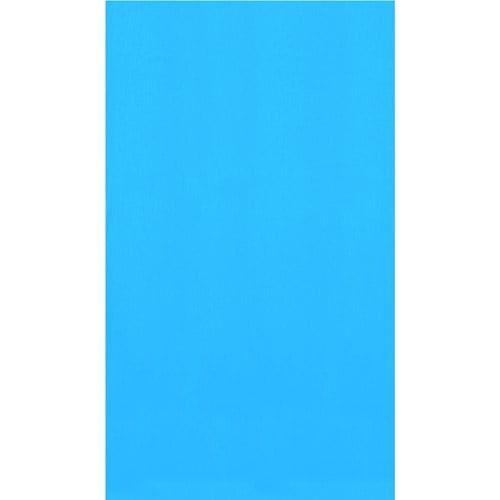 "Swimline 12' x 18' Oval Overlap Pool Liner, 48""/52"" Deep, Blue"