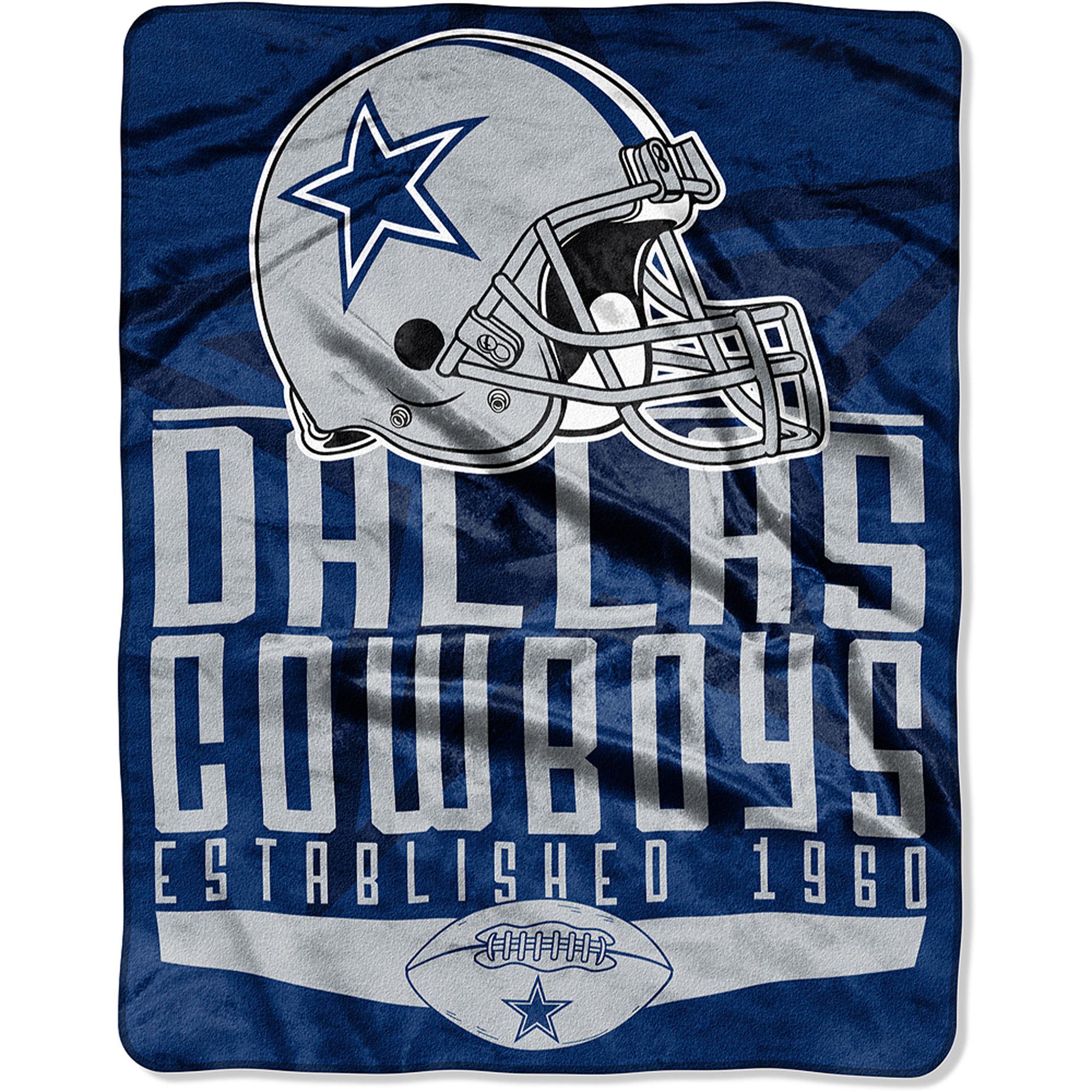 "NFL Dallas Cowboys 55"" x 70"" Silk Touch Throw"