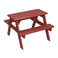 Little Colorado 144RD Childs Picnic Table, Red