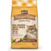 Merrick Purrfect Bistro Grain-Free with Real Chicken + Sweet Potato Dry Cat Food, 7 lb