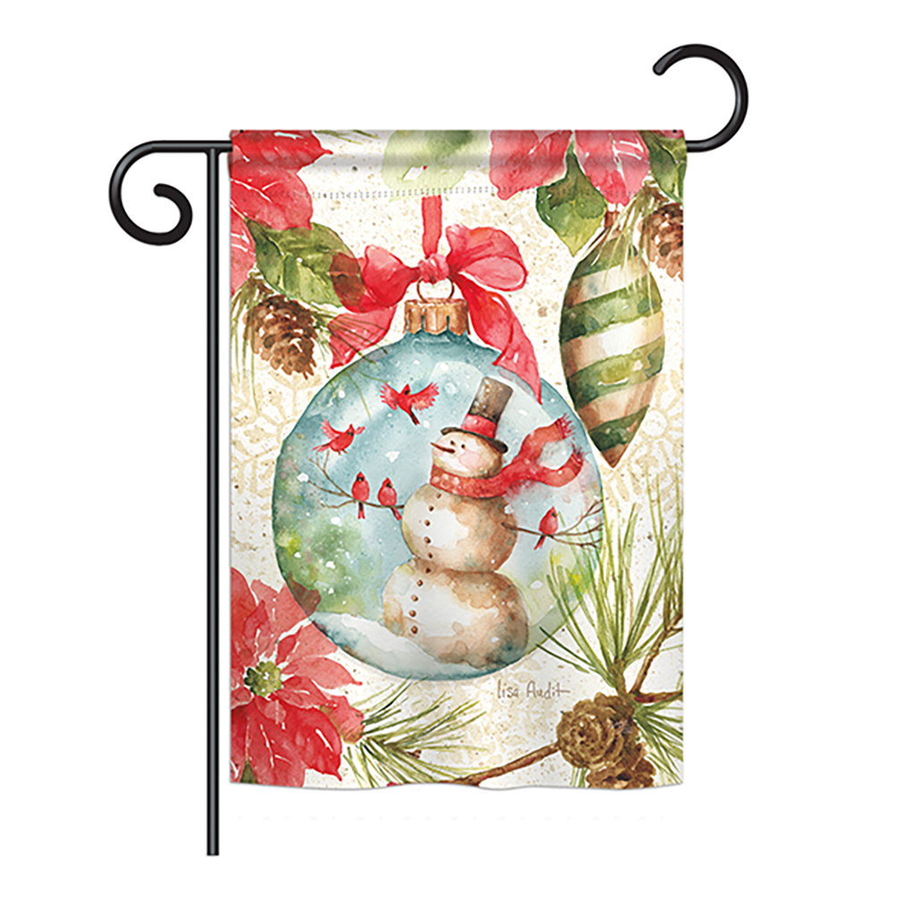 Woodland Holiday Winter - Winter Wonderland Impressions Decorative Vertical Garden Flag