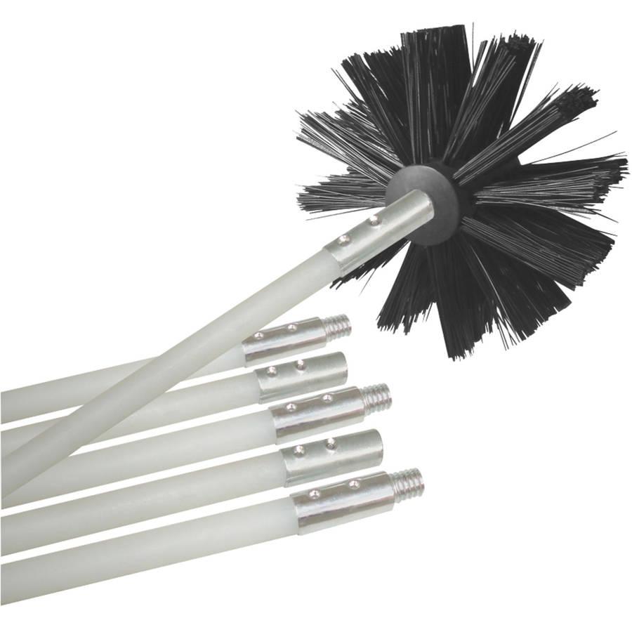 deflecto 12' dryer-duct cleaning kit dvbrush12k/6 - walmart.com