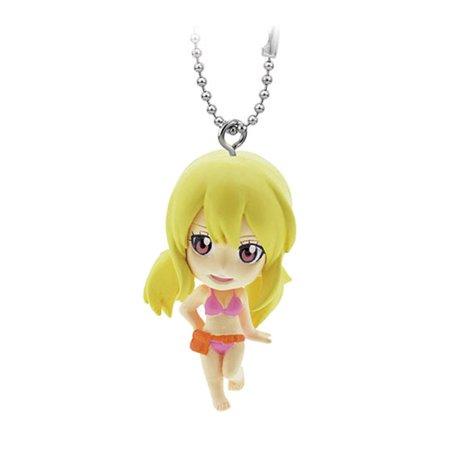 - Fairy Tail Swing PVC Figure Keychain - Lucy Heartfilia
