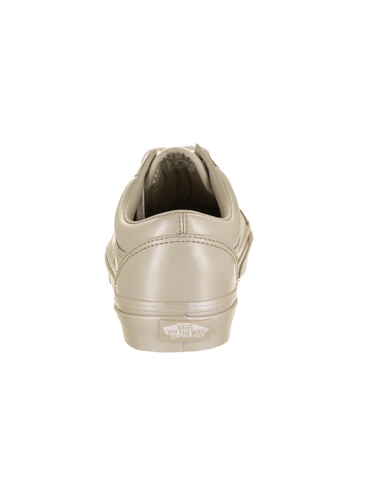 Vans Unisex Old Skool (Metallic Sidewall) Skate Shoe
