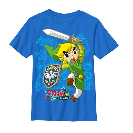 Nintendo Boys' Legend of Zelda Spirit Tracks - School Spirit Clothing Ideas