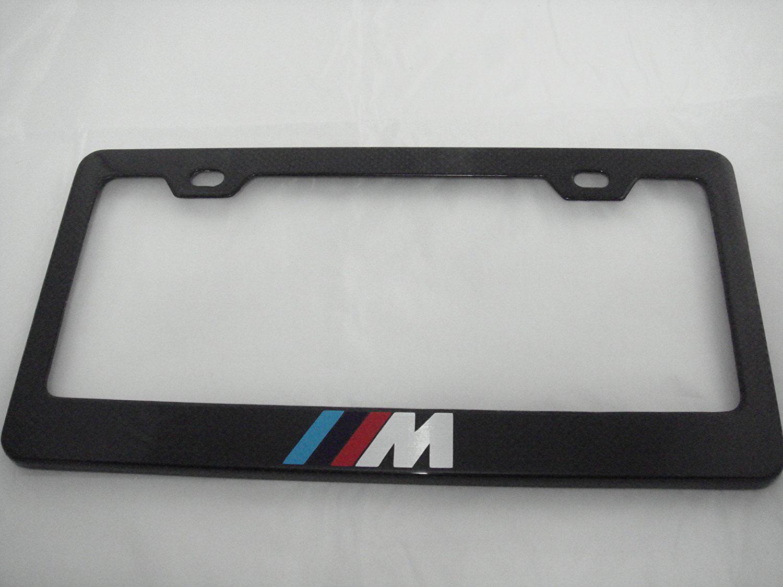 BMW M Carbon Fiber License Plate Frame, By PRC - Walmart.com