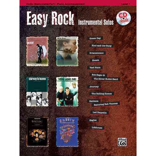 Easy Rock Instrumentals for Strings, Level 1: Violin
