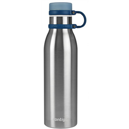 Contigo Thermalock Matterhorn Vacuum Insulated 20 Ounce Stainless Steel Matte Black Water Bottle