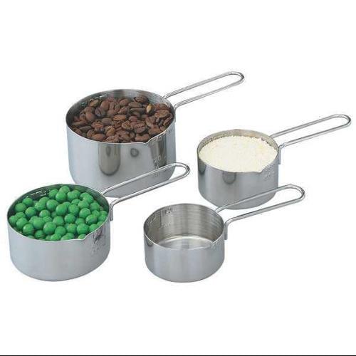 Four-Piece Measuring Cup Set, Gray ,Vollrath, 47119