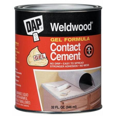Dap 25312 1 Quart Weldwood Contact Cement Gel