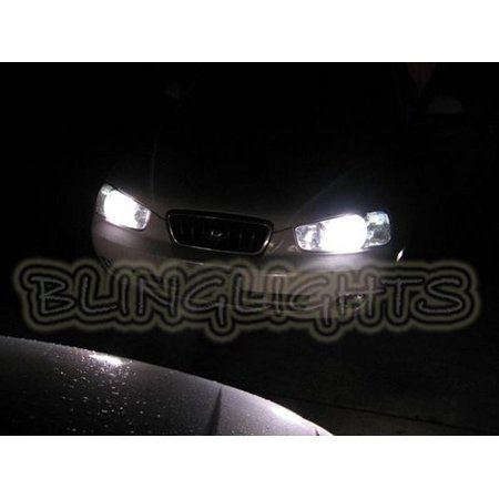 New 2001 2002 2003 Hyundai Elantra Bright White Light Bulbs For Headlamps Headlights Head Lamps Lights