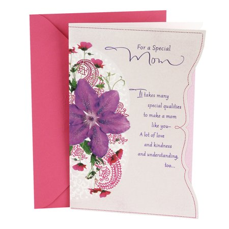 Hallmark Birthday Greeting Card to Mother (Purple