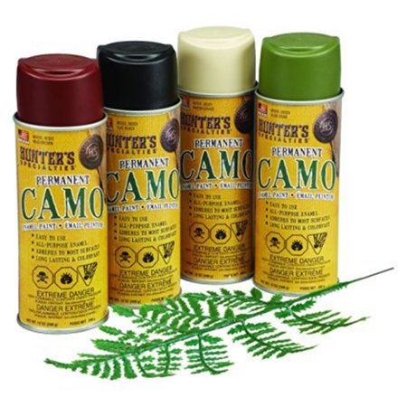 camo spray paint kit with leaf stencils hunters specialties 4 12 - Camo Paint Colors