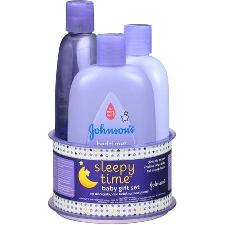 502f4cbd37d Johnson s Sleepy Time Baby Gift Set