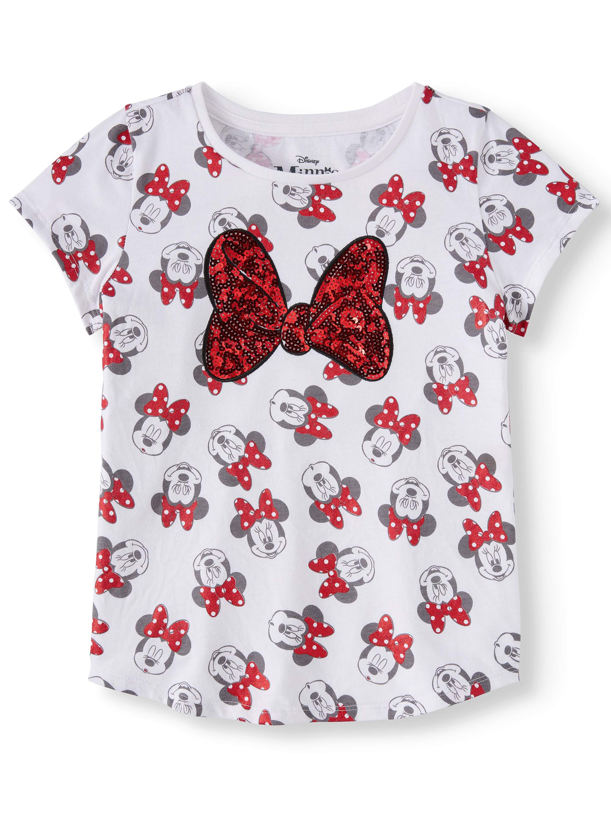 All-Over Minnie Bow Graphic T-Shirt (Little Girls & Big Girls)