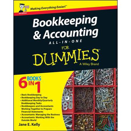 Bookkeeping and Accounting All-In-One for Dummies - (The Miror Uk)