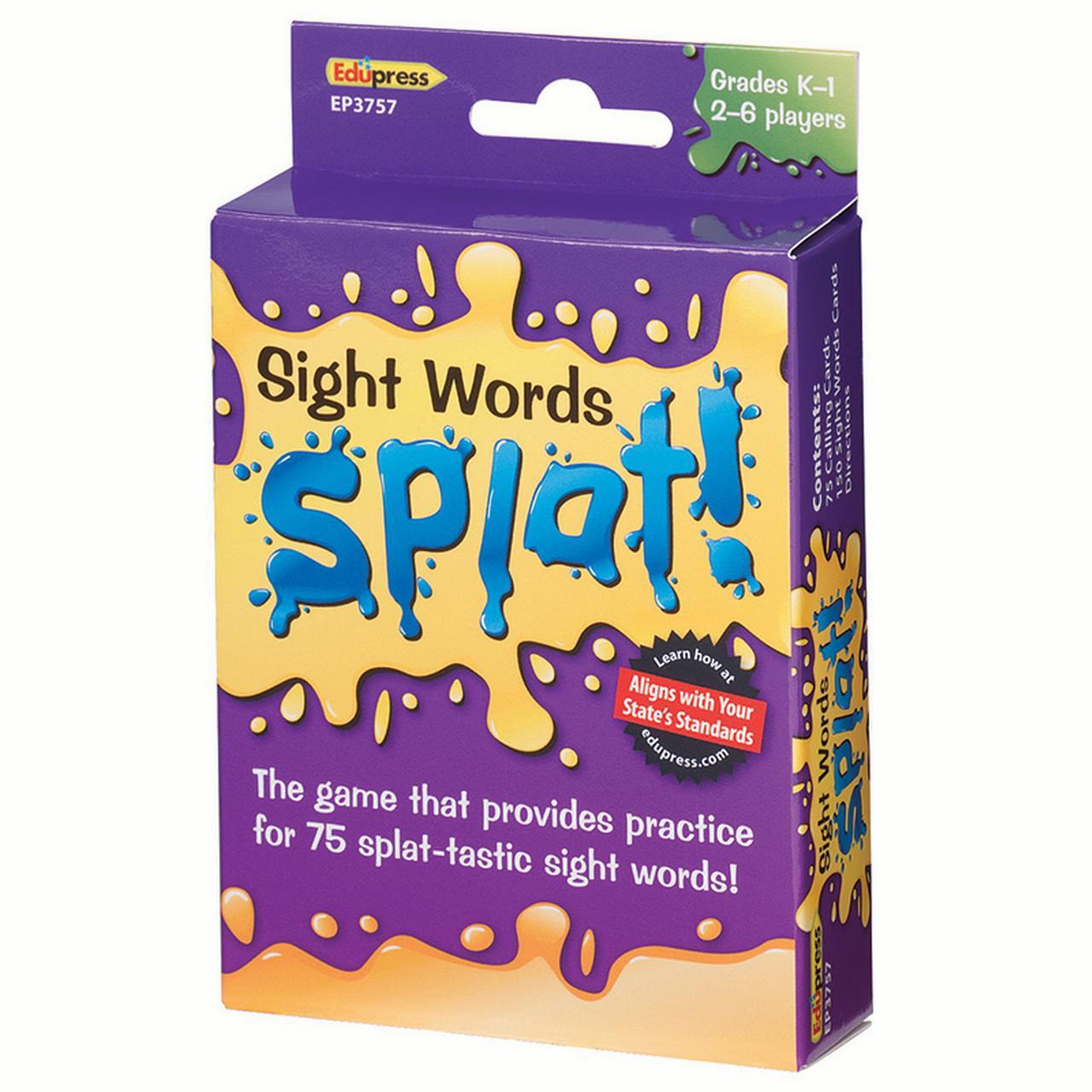 SIGHT WORDS SPLAT GR K-1