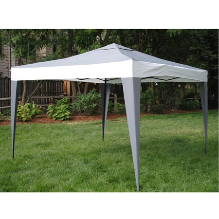 Herat Oriental ProGarden Polyester/ Steel Grey Canopy Tent (10' x 10')
