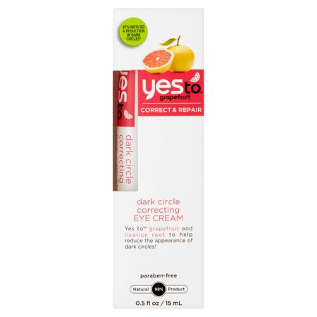 Yes To Grapefruit Dark Circle Correcting Eye Cream, 0.5 fl oz