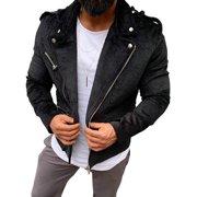 Julygoo Men's Corduroy Long Sleeve Coat Tops