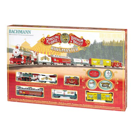 Bachmann Trains Ringling Bros  Ringmaster Ho Scale Ready To Run Electric Train Set
