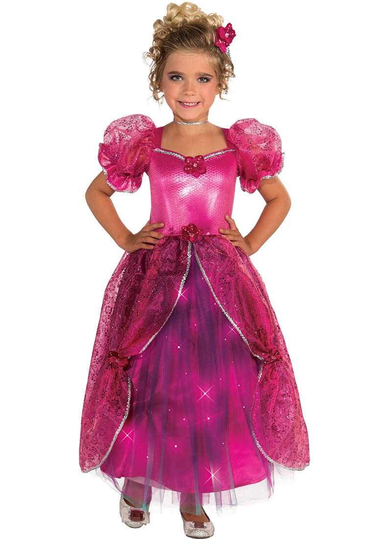 Child Light-Up Pretty In Pink Princess Dress Costume by Rubies 886658 by Rubies
