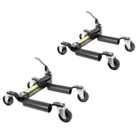 Vehicle Positioning Jack (2-Pack Hydraulic Vehicle Positioning Jack & Wheel Dolly)