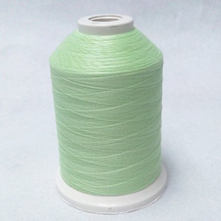 Premium #40 Glow in The Dark Embroidery Thread - Polyester (1) 500 Meter/550 Yard Spool (Green)