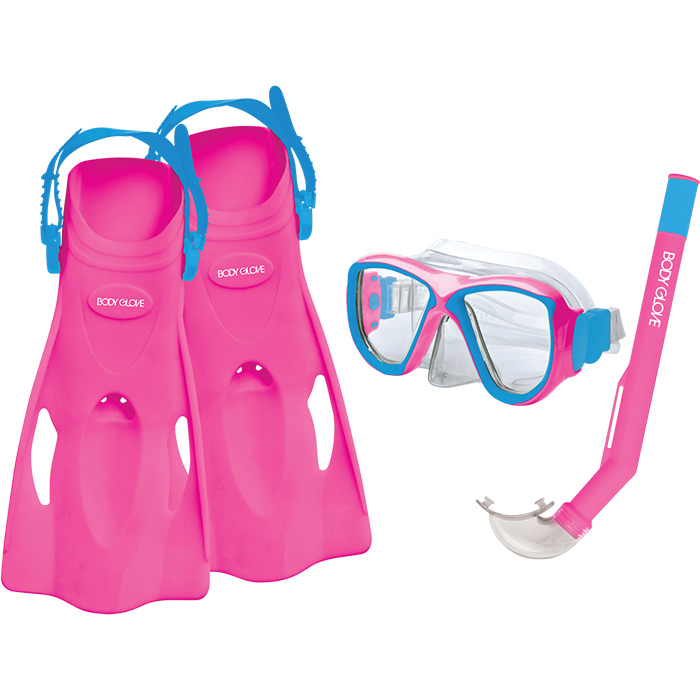 Oasis Combo Sport Snorkel Mask Purple Body Glove Jr