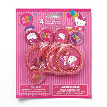 Hello Kitty Charm Bracelet, Party Supplies