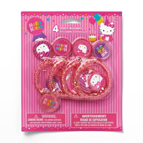 Hello Kitty Charm Bracelet, Party Supplies