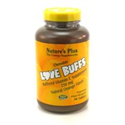 Love Buffs Chewable Vitamin C Orange By Nature's Plus - 90 Tablets