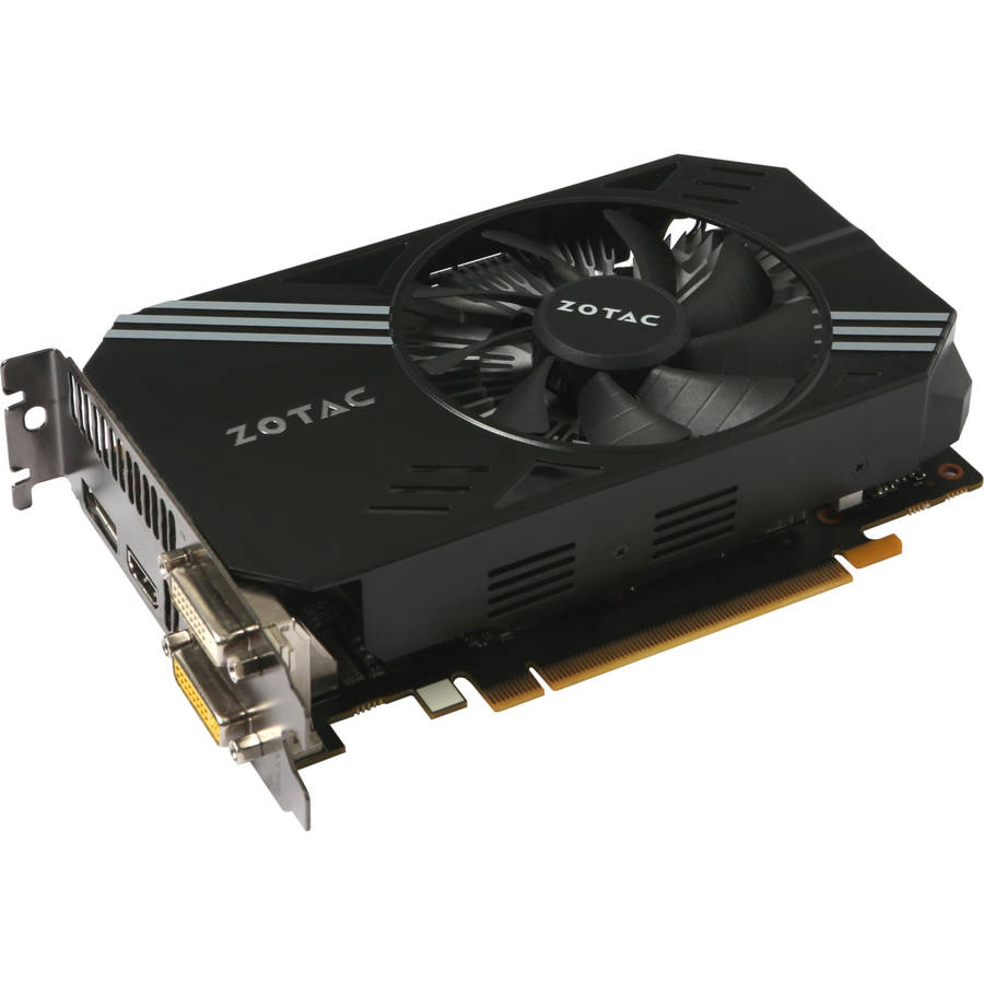 ZOTAC ZT9060110L NVIDIA GeForce GTX 950 2GB GDDR5 PCI Express 3.0 Graphics Card