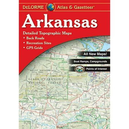 Universal Map Arkansas Atlas/Gazetteer