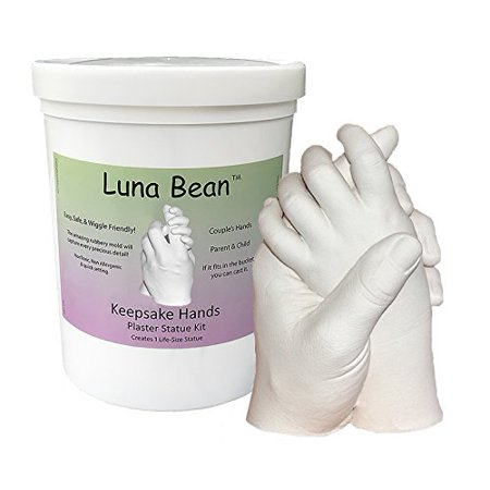 Luna bean keepsake hands diy plaster statue casting kit do it luna bean keepsake hands diy plaster statue casting kit do it yourself kit solutioingenieria Choice Image