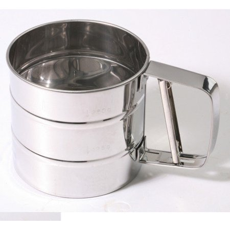 Culinary Edge 3 Cup Stainless Steel Flour Sifter by