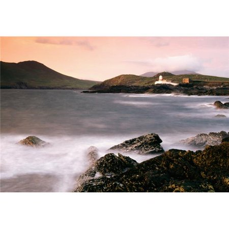 Cromwell Point Lighthouse Valentia Island County Kerry Ireland Poster Print by Richard Cummins, 36 x 24 - Large - image 1 of 1