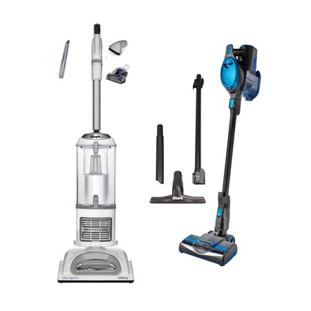 Shark Navigator Lift Away Pro Vacuum + Rocket Swivel Vac (Certified Refurbished) Euro Pro Shark Upright Vacuum