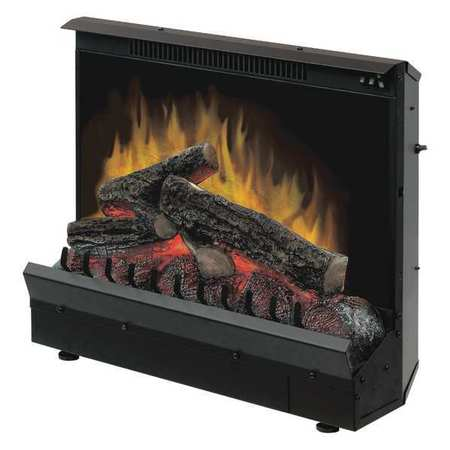"DIMPLEX DFI2309 Electric Fireplace, Insert, 23"" Basic G4852386"