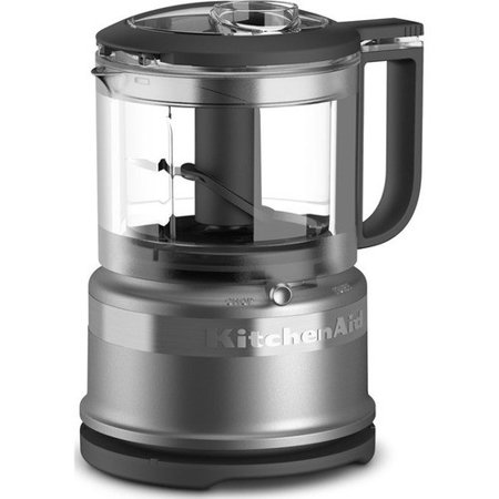 KitchenAid 3.5 Cup Silver Mini Food Processor