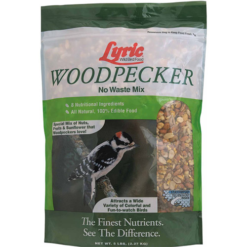 Lyric 5 lb Woodpecker Wild Bird Mix