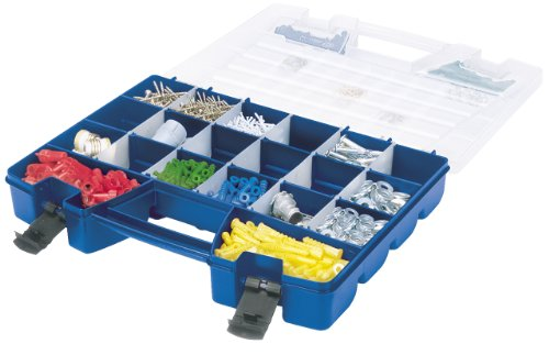 "Akro-mils Portable Organizer 3.6"" Height X 13.4"" Width X 18.3"" Depth External Dimensions Blue,... by Akro-Mils"