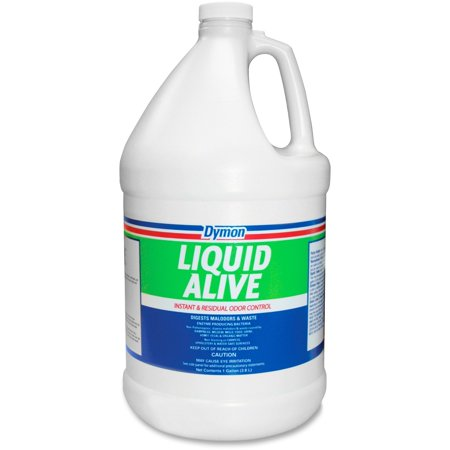Dymon, ITW33601, Liquid Alive Odor Digester, 4 / Carton, (Dymon Antimicrobial)
