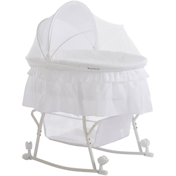 Dream On Me Lacy Portable 2 In 1, Dream On Me Cradle Bedding