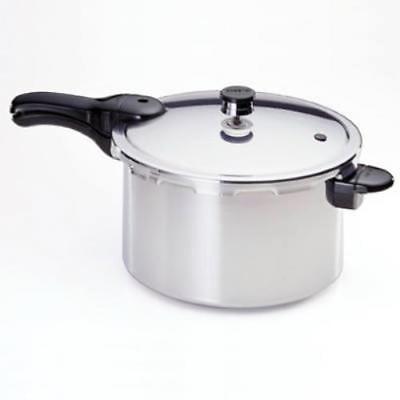 8 QT Aluminum Pressure Cooker & Canner