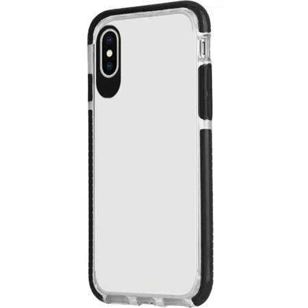 purchase cheap ba692 6893d Apple iPhone X Case, by Insten Rubber TPU Transparent Clear Skin Case Cover  For Apple iPhone X, Dark Blue